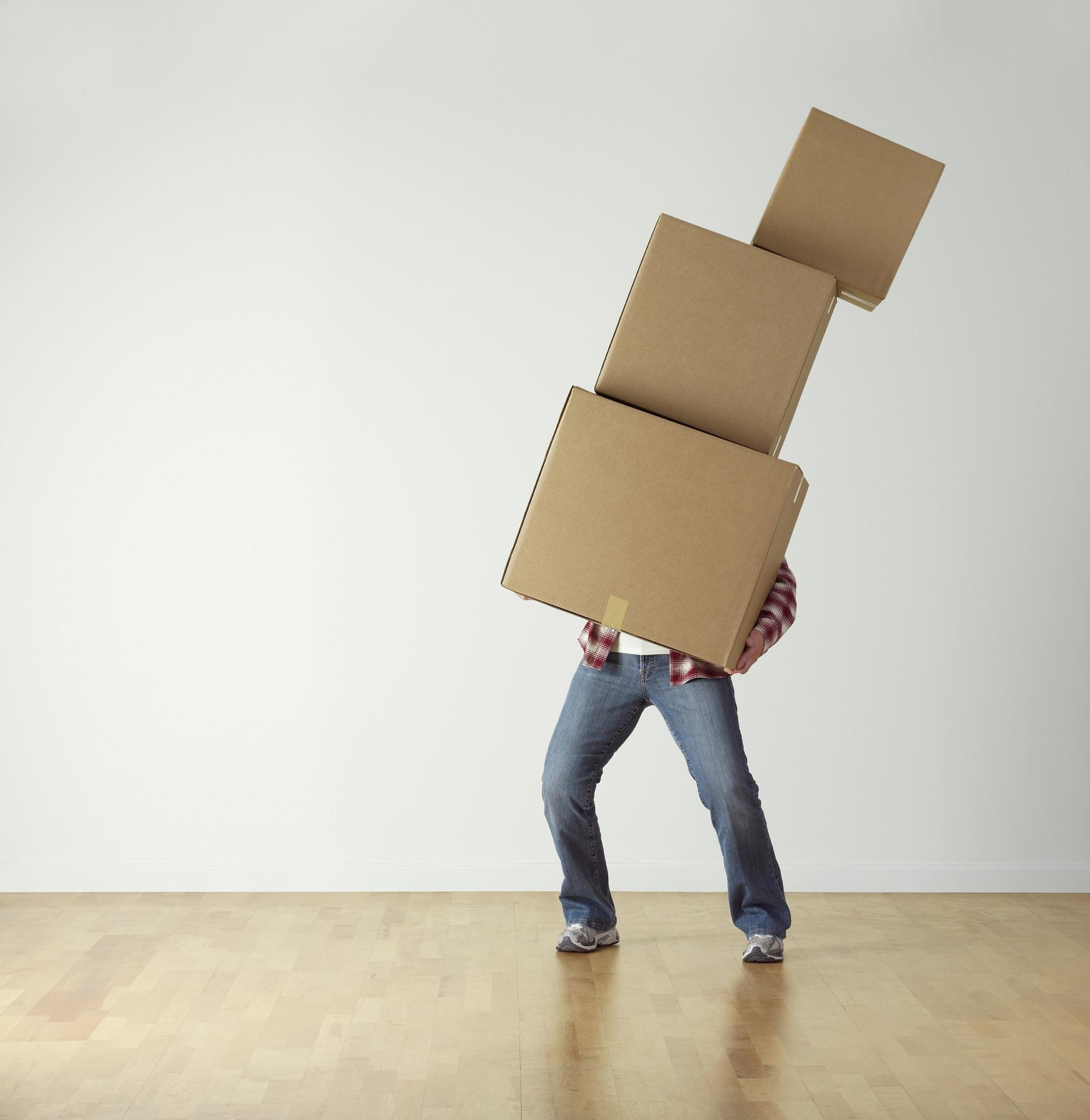 verhuizen dozen